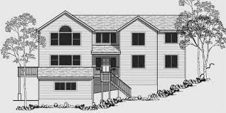 front sloping lot house plans sloped lot house plans 100 lake lot house plans 100 sloped lot