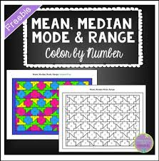 maths mean median mode range worksheets the best and most
