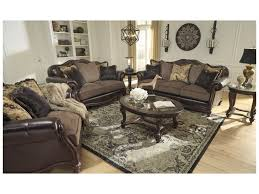 Living Room Furniture Groups Signature Design By Winnsboro Durablend Stationary Living