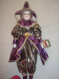 mardi gras doll vintage 20 inch mardi gras jester doll mardi gras dolls and court