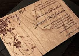 wooden wedding invitations screen printed wood veneer wedding invitations r e f i n e wooden