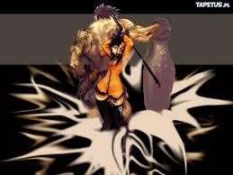 devil hunter yohko tae kim postać kobieta kij