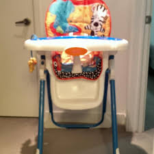 Fisher Price Table High Chair Best Fisher Price Adorable Animals High Chair For Sale In