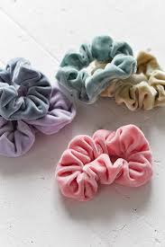hair scrunchie velvet hair scrunchie set hair accessories