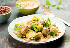 cuisiner les choux de bruxelles choux de bruxelles tandoori rececette moulinex