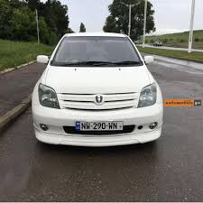 toyota ist 2005 automobile ge