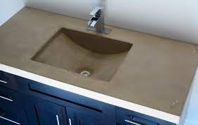 Bathroom Vanity Countertops Ideas Concrete Bathroom Sink Countertop Creative Bathroom Decoration