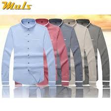 urban fashion 5xl men dress shirt long sleeve brand imported shirt
