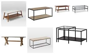 a wink and a smile apartment coffee tables