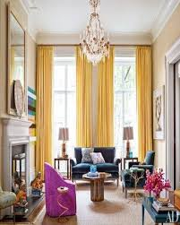 Curtains For Yellow Living Room Decor Inspiring Curtains For Yellow Living Room Decorating With Yellow
