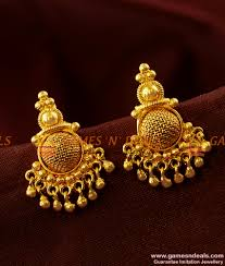 kerala earrings kerala type daily wear trendy flower guarantee imitation ear rings