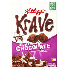 Breakfast Food Cereal Walmart Com by Kellogg U0027s Krave Double Chocolate Cereal 11 Oz Walmart Com