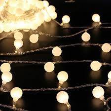 50 leds 16 globe led string lights battery