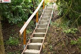 garten treppe außentreppen und gartentreppen selber bauen diytueftler und
