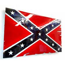 New Rebel Flag Confederate Flag Metal Art
