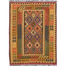 Kilim Storage Ottoman Blue Kilim Area Rugs You U0027ll Love Wayfair