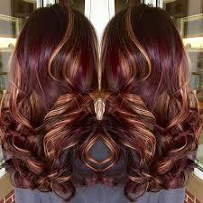 25 burgundy hair highlights ideas fall