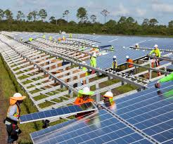Solar Plant Lights by Northern Lights Large Scale Solar Power Is Spreading Across The