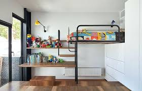 Full Size Bunk Bed With Desk Underneath Wardrobes Loft Bed With Desk Underneath Kids Farmhouse With Desk