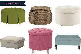 craftsmen style interior design with ikea storage ottoman option