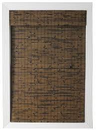 amazon com calyx interiors bamboo roman shade 32 inch width by
