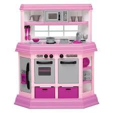 pretend kitchen furniture american plastic toys deluxe custom kitchen with 22 accessories