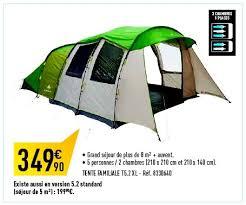 decathlon promotion tente familiale t5 2 xl quechua tentes