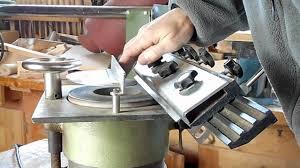 planer blade sharpening machine youtube