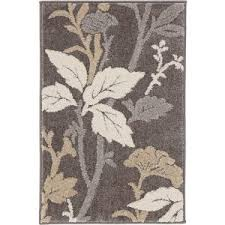 Home Decorators Com Rugs Home Decorators Collection Blooming Flowers Gray 7 Ft 10 In X 9