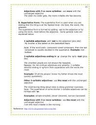 thanksgiving adjectives 13 14 second semester grammar 1 simplebooklet com