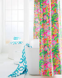 Bright Shower Curtain Add A Colorful Pop To Your Bathroom With Our Lilly Pulitzer