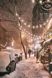 winter night new york city u2026 pinteres u2026