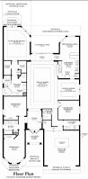 Pizzeria Floor Plan by Bonita Lakes Executive Collection The Saranac Home Design