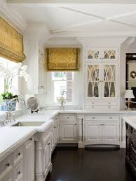 white kitchen cabinet glass doors how to make your kitchen beautiful with glass cabinet doors