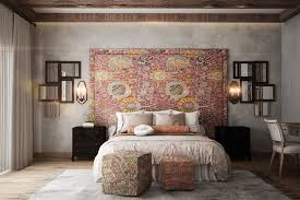 accent wall ideas bedroom bedroom designs spotted wall white feature wall ideas 43