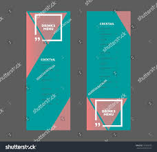 cosmopolitan drink quotes drinks menu cocktail triangle square quotes for stock vector