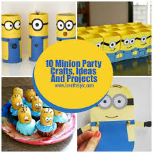 minion party 10 minion party crafts ideas and projects
