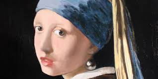 earring girl a copy of jan vermeer s girl with a pearl earring masters