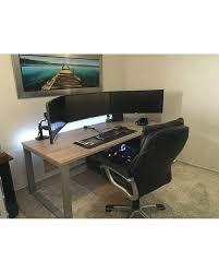 Gaming Desk Setup Ideas 1458 Best Pc Setup Images On Pinterest Gaming Setup Desk Setup