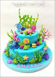 under the sea cake tutorials sugarpaste coral u0026 sponges