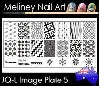 jq 50 image plate meliney nail art supplies
