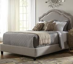 nailhead bed headboard home beds decoration