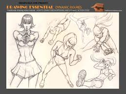 learn to draw foreshortening and dynamic poses