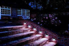 solar stair lights indoor outdoor stair lighting kit coryc me