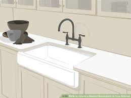 how to make a backsplash in your kitchen how to create a neutral backsplash in your kitchen 13 steps
