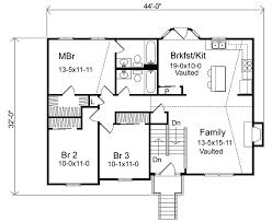 split floor plan floor plan side designs ranch side apartment canadian bedfordale