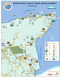 Trinidad And Tobago Map Map Of Trinidad And Tobago Showing Natural Resources