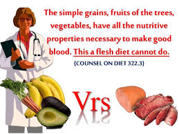 Counsels On Diets And Food Should All Adventists Be Vegetarians By Josiah Sarpong