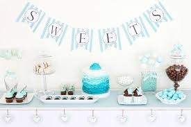 Baby Shower Table Ideas Sweet Boy Baby Shower Ideas Spaceships And Laser Beams