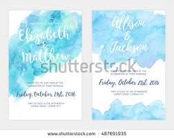 wedding backdrop design vector vector watercolor background simple card stock vector